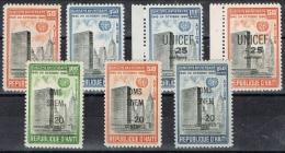 K 415 D´HAITI XX YVERT NRS 218/219 - 407 +  LP 210/211 - 229/230  ZIE SCAN - Timbres