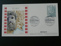 FDC Monaco Ed. Numismatique 1997 Hercule Europa Ref 48871 - Mythologie