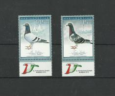 62..HUNGARY-2015.- 34th Carrier Pigeons´Olympics,Budapest Cpl. Set MNH!! - Unclassified