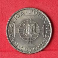 ANGOLA  10  ESCUDOS  1970   KM# 79  -    (Nº11185) - Angola