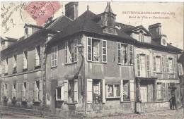 Cpa - Bretteville Sur Laize - Hotel De Ville Et Gendarmerie ( En L´état ) - Andere Gemeenten