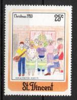 St. Vincent 1985 - Natale Christmas MNH ** - St.Vincent (1979-...)