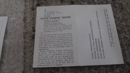 ALFONS TRESINIE RAVEYDTS POLITIEK VOLLEZELE SCHEPEN AALST D2209 - Godsdienst & Esoterisme
