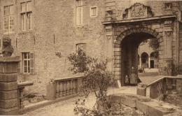 BELGIQUE - HAINAUT - ECAUSSINNES - ECAUSSINES-LALAING - Vieux Château - Entrée De La Cour D'Honneur. - Ecaussinnes