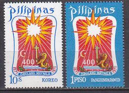 PGL CS954 - PHILIPPINES Yv N°824 + AERIENNE ** - Filippine
