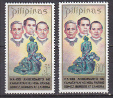 PGL C455 - PHILIPPINES Yv N°840/41 ** - Filippine