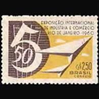 BRAZIL 1960 - Scott# 914 Industry Fair Set Of 1 MNH (XJ310) - Unused Stamps