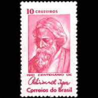 BRAZIL 1961 - Scott# 926 Poet Tagore Set Of 1 MNH (XJ499) - Unused Stamps