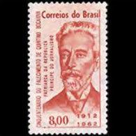BRAZIL 1962 - Scott# 948 Journalist Bocaiuva Set Of 1 MNH (XJ811) - Unused Stamps