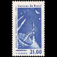 BRAZIL 1963 - Scott# 953 Aeronautics Set Of 1 MNH (XK024) - Unused Stamps