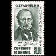 BRAZIL 1964 - Scott# 978 Spiritism Kardec Set Of 1 MNH (XK605) - Unused Stamps