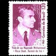 BRAZIL 1965 - Scott# 998 Iran King Set Of 1 MNH (XL277) - Unused Stamps