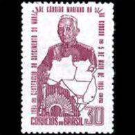 BRAZIL 1965 - Scott# 999 Marshal Mariano Set Of 1 MNH (XL389) - Unused Stamps