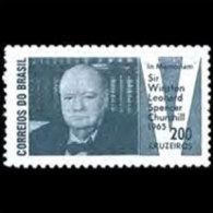 BRAZIL 1965 - Scott# 1005 Churchill Set Of 1 LH (XL645) - Unused Stamps