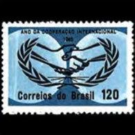 BRAZIL 1965 - Scott# 1007 Intl.Coop.Year Set Of 1 LH (XL760) - Unused Stamps