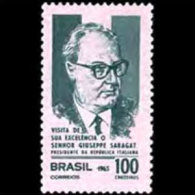 BRAZIL 1965 - Scott# 1010 Italy Pres. Set Of 1 MNH (XM011) - Unused Stamps