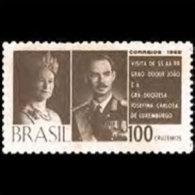 BRAZIL 1965 - Scott# 1011 Luxembourg Duke Set Of 1 LH (XM096) - Unused Stamps