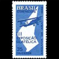 BRAZIL 1965 - Scott# 1012 Aviation Week Set Of 1 LH (XM130) - Unused Stamps
