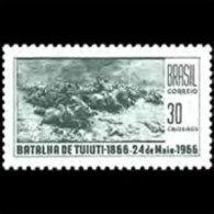 BRAZIL 1966 - Scott# 1019 Tuiuti Battle Set Of 1 MNH (XM409) - Unused Stamps