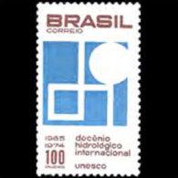 BRAZIL 1966 - Scott# 1020 Hydrological Dacade Set Of 1 MNH (XM442) - Unused Stamps