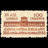 BRAZIL 1966 - Scott# 1022 Fine Art Academy Set Of 1 MNH (XM472) - Unused Stamps