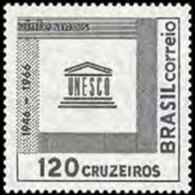 BRAZIL 1966 - Scott# 1027 UNESCO 20th. Set Of 1 LH (XM554) - Unused Stamps