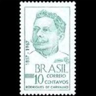 BRAZIL 1967 - Scott# 1074 Poet Carvalho Set Of 1 MNH (XO174) - Unused Stamps