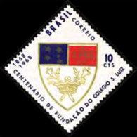 BRAZIL 1968 - Scott# 1082 St.Luiz College Set Of 1 MNH (XO462) - Unused Stamps