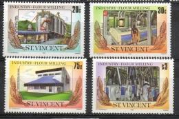 St. Vincent 1985 - Industria Macinatura Del Grano Industry Grain Milling MNH ** - St.Vincent (1979-...)