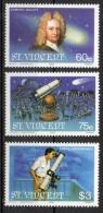 St. Vincent 1986 - Edmond Halley Astronomia Astronomy MNH ** - St.Vincent (1979-...)