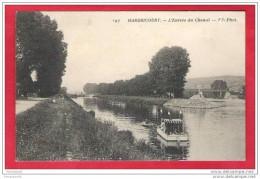 78-Hardricourt-L'entrée Du Chenal Très Belle Cpa Animée 1911 - Hardricourt