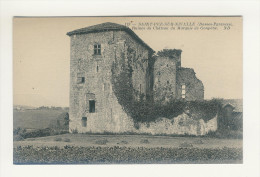 SAINT-PEE-SUR-NIVELLE - Ruines Du Château Du Marquis De Gonpêne - Francia