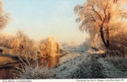 Postcard - Long Bennington River Witham, Lincolnshire. A - Otros