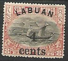 LABUAN N� 97  NEUF* TB /   CHARNIERE / MH
