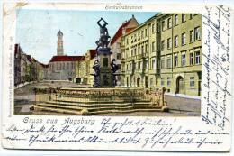 Gruss Aus Augsburg. Herkulesbrunnen (1899) - Saluti Da.../ Gruss Aus...