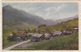 La Forclaz Et Le Pic Chaussy / Petit Village Dans La Verdure. Sans Nouv. Constructions Colorée, Superbe ! N. écrite - VD Vaud