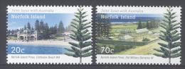 NORFOLK  ISLAND, 2014, MNH, JOINT ISSUE WITH AUSTRALIA, TREES, MILITARY BARRACKS,2v - Gezamelijke Uitgaven