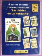 """6 Cartes Postales Timbres Illustrées """"Les Fables De La Fontaine"""" 1995 Neuf Sous Blister PHOTO RECTO VERSO - Prêts-à-poster:  Autres (1995-...)"""