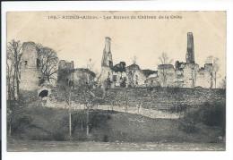 AUDES (Allier). - Les Ruines Du Chateau De La Crète - Other Municipalities