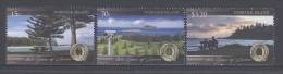 NORFOLK  ISLAND, 2014, MNH,QUOTA CLUB TREES, LANDSCAPES,SEASIDE,3v - Organisaties