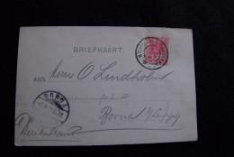 A296 NIEDERLANDE NEDERLAND NETHERLANDS 31.8.1901 => Borna Leipzig Harmoniumfabrik - 1891-1948 (Wilhelmine)