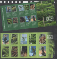 NORFOLK  ISLAND, 2014, MNH,TREES, PINE TREES, BOOKLET - Bomen