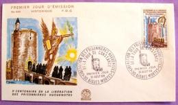 Premier Jour - Libération Des Prisonniers Huguenotes 1968 - Aigues Mortes PHOTO RECTO VERSO - FDC
