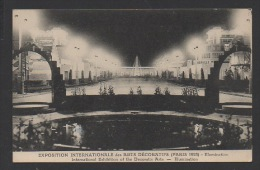 DF / 75 PARIS / EXPOSITION INTERNATIONALE DES ARTS DECORATIFS 1925 / ILLUMINATION - Ausstellungen