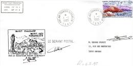 T.A.A.F. : Mont D'Alsace Et Mont Des Kerguelen Baptisés Par Sénateur Henri GOETSCHY Port-aux-Français 1993 + Signatures - Polar Explorers & Famous People