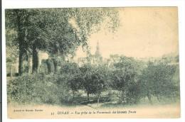 DINAN - Vue Prise De La Promenade Des Grands Fossés - Dinan