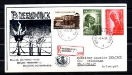 FDC Recommandé, Fort De Breendonk,  Yv. 943/945    Cote 85 € - FDC