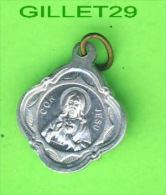 MÉDAILLE RELIGIEUSE - COR JESU - VIRGO CARMELI - - Religion & Esotérisme