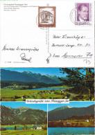 """E1159 Ak Presseger See Bahnpost Österreich """"KÖTSCHACH-MAUTHEN-VILLACH"""" 1981 - 1945-.... 2ème République"""
