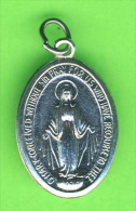 MÉDAILLE RELIGIEUSE - O MARY CONCEIVED WITHOUT SIN PRAY FOR US  WHO HAVE RECOURSE TO THEE - - Religion & Esotérisme